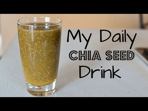 Video My Daily Chia Seed Drink