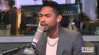 "Miguel sings ""Adorn"" 