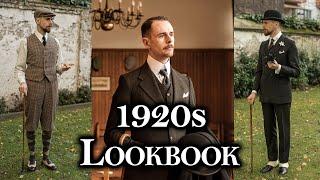 Early 1920s/Edwardian Menswear Lookbook