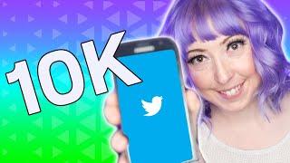 How I Grew My Twitter To 10K Followers FAST