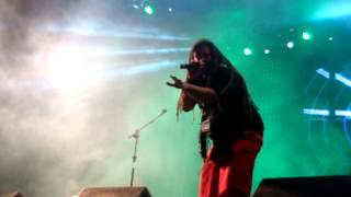 """""""Conquering Lion"""" - Dominic Balli no Godstock 2012, dia 18 de Novembro de 2012."""