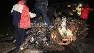 Seven family members perish in a grisly road accident in Salgaa, Nakuru County
