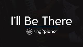 I'll Be There (Piano Karaoke Instrumental) Jess Glynne