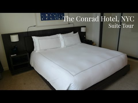 Conrad Hotel NYC Suite Tour | New York City Five Star Hotel | Lux Life