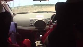 Funny Rally Onboard - Samir...You're breaking the car!