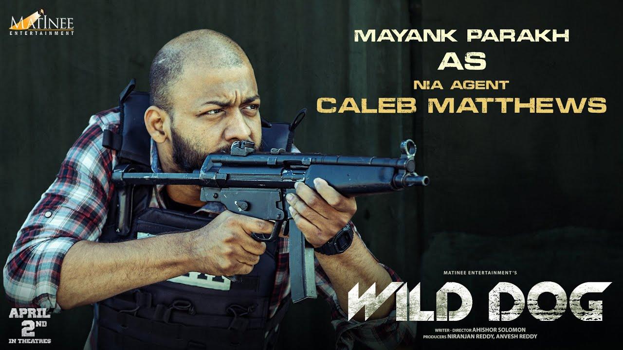 Mayank Parakh As CALEB MATTHEWS | Wild Dog