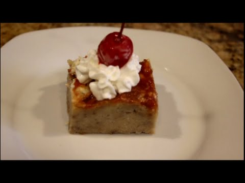 Desert – How to Make Puerto Rican Bread Pudding Recipe (Budín de Pan) [Episode 013]