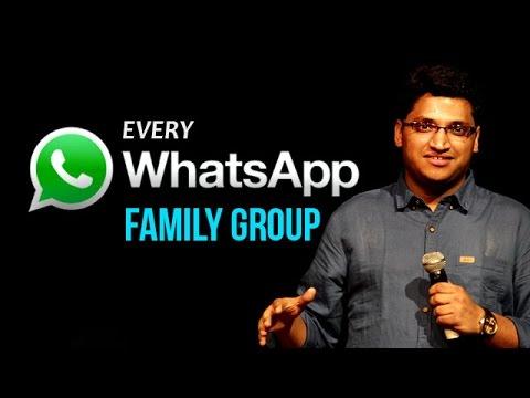 Every whatsApp Family Group   Gaurav Gupta   Comedy Munch