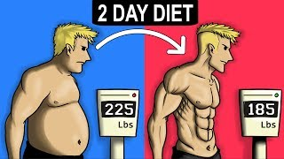 Lose 10 Pounds With A 2 Day Diet