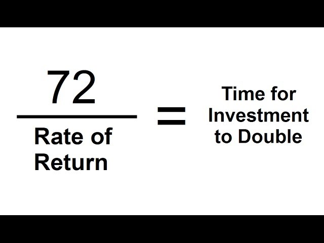 The Rule Of 72 Trick To Calculate When Investments Double