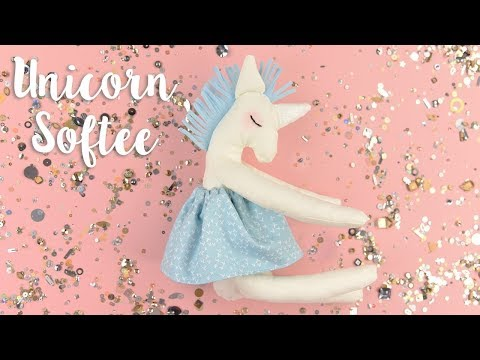 How to Sew Your Own Unicorn Softee - Sizzix
