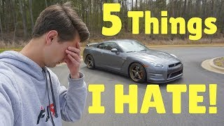 Do I HATE Anything About My Nissan GT-R?