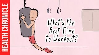 What's the Best Time of Day To Workout? - MORNING or EVENING ?