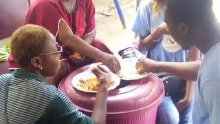Visite de l'association la voix des opprimés sur l'orphelinat cité des anges de hèvié