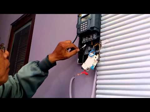 Video Cara memasang meteran listrik prabayar