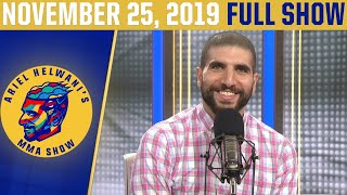 Gina Carano, TJ Dillashaw, Robert Whittaker   Ariel Helwani's MMA Show (Nov. 25, 2019)   ESPN MMA