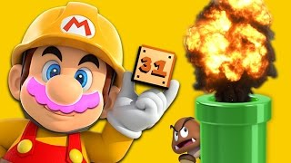EXPLODING WITH SKILL(rage) | Mario Maker #31