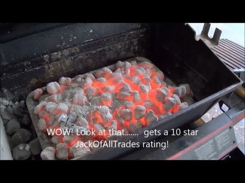 How to get amazing red hot coals for any barbecue – Coal starter review