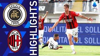 Spezia 1-2 Milan Pekan 6