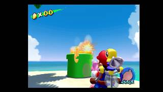 How to Get Yoshi to the Island Without Using the Boats - Super Mario Sunshine 100% Walkthrough