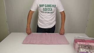 Махровое полотенце PURRY, 70 х 140 см. 6 шт / уп. 880030 от компании Текстиль оптом, в розницу от 1 грн. МИР БАМБУКА, Одесса, 7 км. - видео