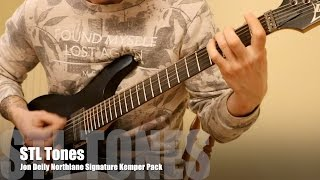 STL Tones Jon Deiley Northlane Kemper Pack Demo - All 90 Profiles