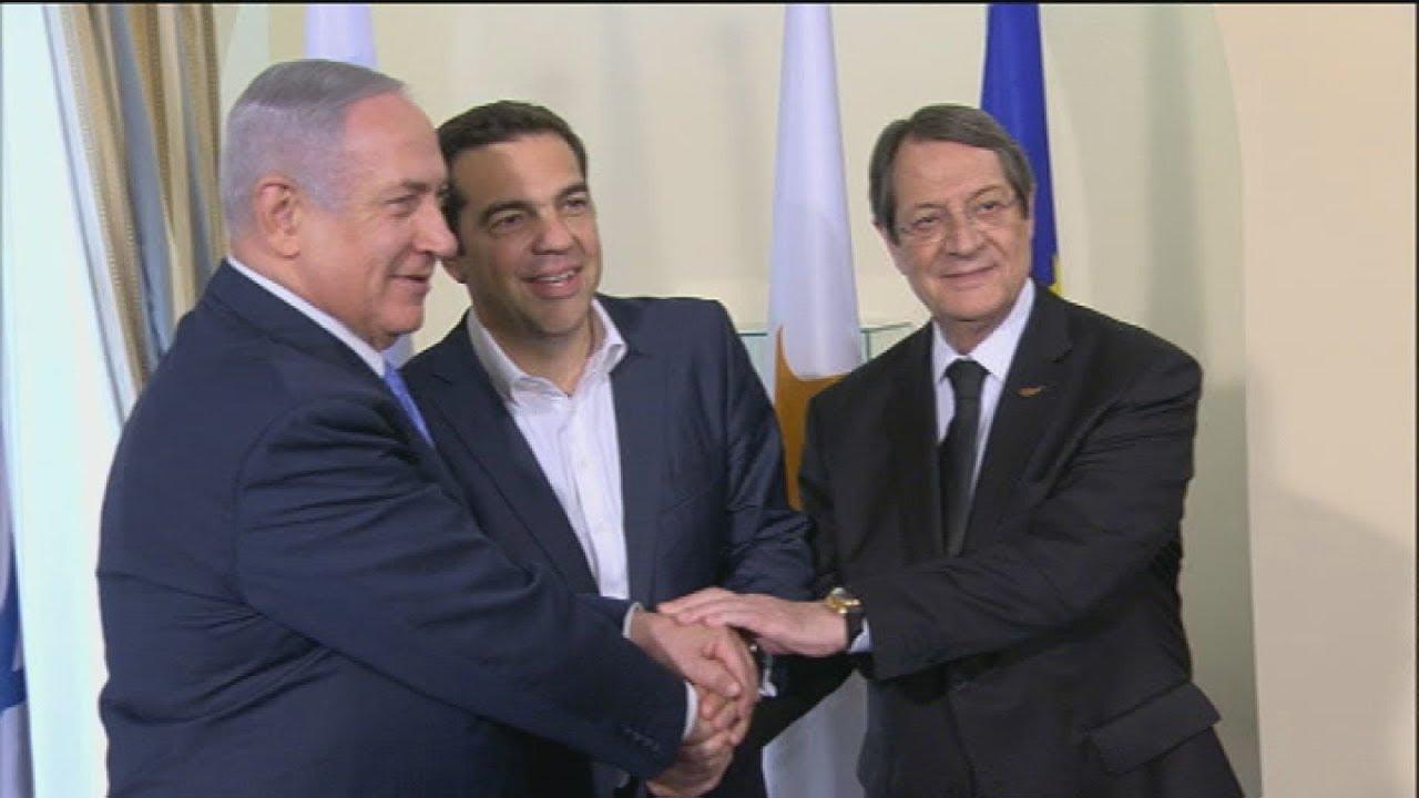 Στην Κύπρο ο πρωθυπουργός Αλέξης Τσίπρας