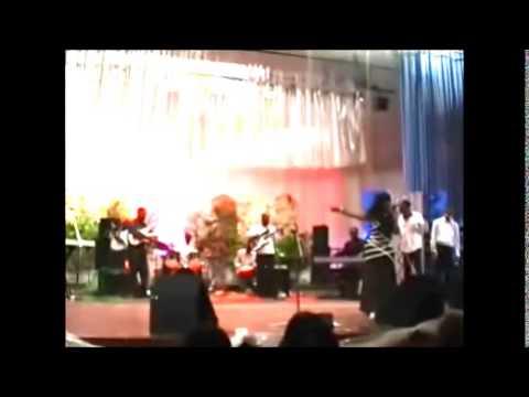 Diane Cameron in Gospel Concert in Benin, West Africa