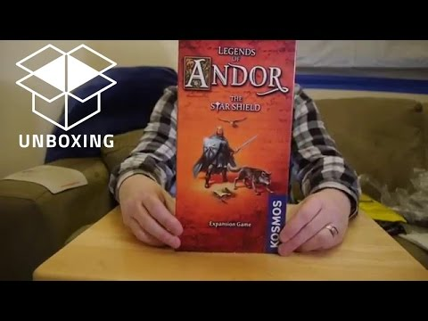 Unboxing: Legends of Andor: The Star Shield