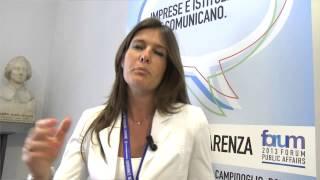 Youtube: IMPRESE E ISTITUZIONI CHE COMUNICANO - Forum Public Affairs 2013 - Intervista