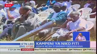 Standard Group na Kenya Re zashirikiana katika kampeini ya 'Niko Fiti'
