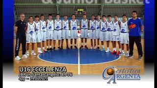 U16 E: JBR – Basket Santarcangelo highlights
