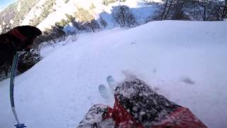 preview picture of video 'Good times in Schladming, AT, 2014/15, Freeride, GoPro Hero 4'