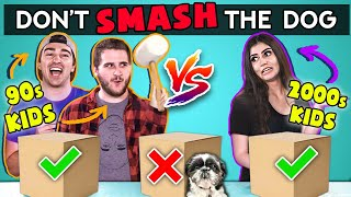 Don't SMASH The Wrong Box Challenge | Challenge Chalice