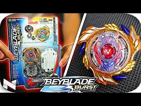 Genesis Valtryek V3 UNBOXING+TEST!!    Beyblade Burst Evolution    Hasbro Beyblade