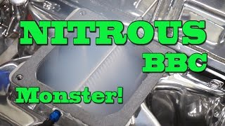 Explosive Nitrous 441CI(7 2L) SBC Demonstration from Nelson