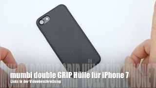 mumbi double GRIP Hülle für iPhone 7/ 8 im Test