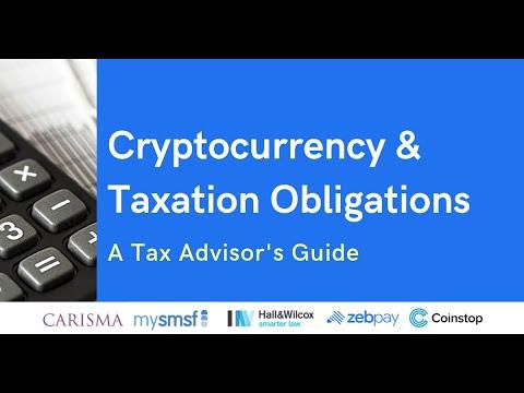 cryptocurrency webinar tax