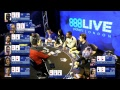 888poker Live Kickoff Event in London! Cash game with 888ambassadors and friends!