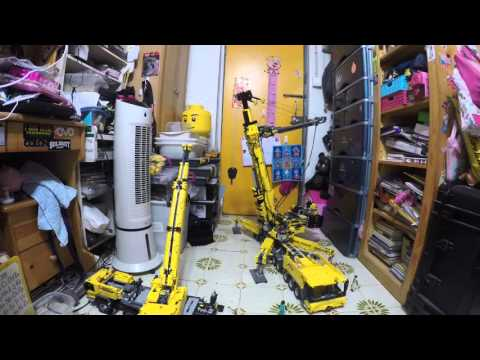 Lego Technic Full Rc Mobile Crane 91 V2 Takwoonken Yu Video