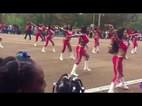 Dancing Dolls: 2017 JSU Homecoming Parade