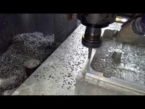 Rutech Obróbka aluminium 4 m/min fi10 3p , zagłębienie 10mm - zdjęcie