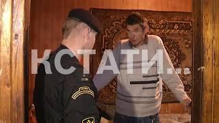 Фекалометательницу судебные приставы вселили при поддержке бойцов ГБР
