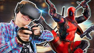 DEADPOOL VR EXPERIENCE! | Marvel Powers United VR (Oculus Rift + Touch Gameplay)