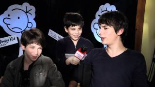 Diary Of A Wimpy Kid 2 Interview w/Cast
