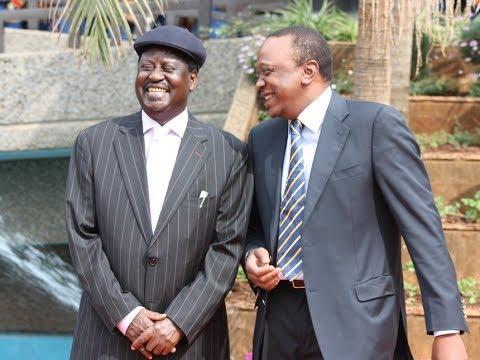 Raila Odinga refutes refering to President Uhuru Kenyatta as a drank