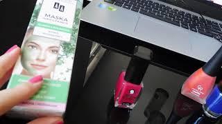 Vlog II 💆 maseczka marki AA i guma do paznokci 💅