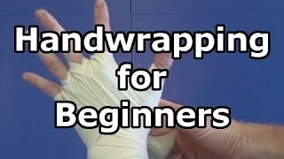 Hand wrapping Basics - How to wrap your hands for boxing, kickboxing, and Muay Thai with long wraps