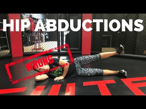 Dumbbell Lying Hip Abduction