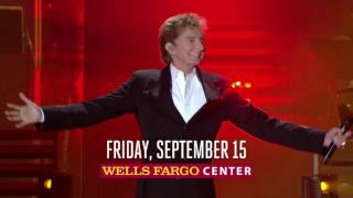 See Barry Manilow LIVE on Friday, Sep. 15